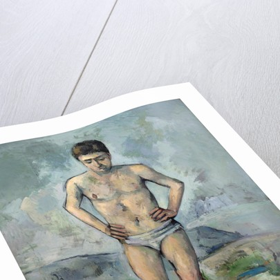 Le Grand Baigneur (The Large Bather) by Paul Cezanne
