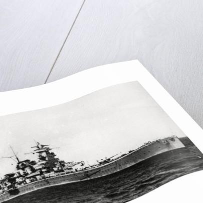 Heavy cruiser Admiral Scheer by Corbis