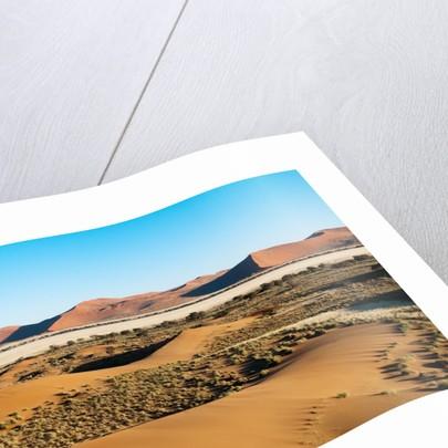 Aerial view, Namib Desert, Namibia. by Corbis