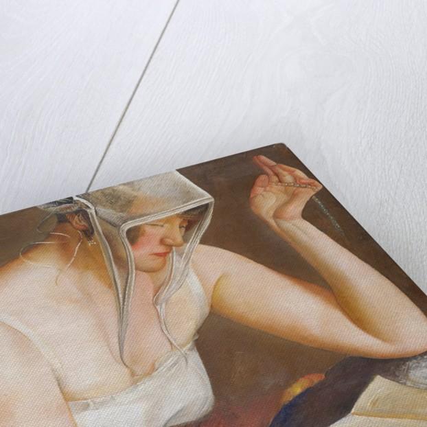 Woman Reading by Boris Grigoriev