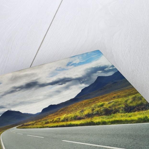 Country road in Cuikin Hills by Corbis