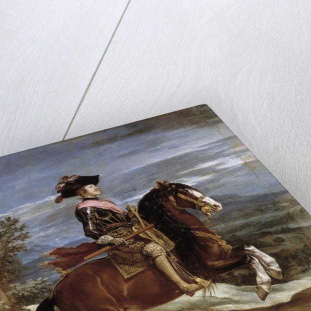 Equestrian Portrait of Philip IV by Diego Velazquez