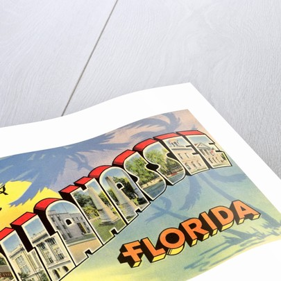 Greetings from Tallahassee, Florida by Corbis