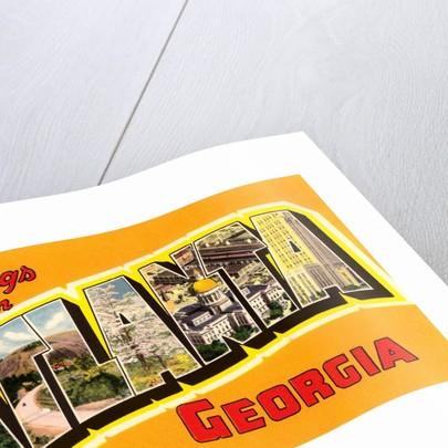 Greetings from Atlanta, Georgia by Corbis