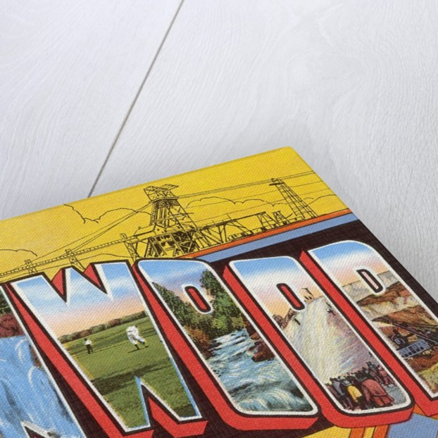 Greetings from Ironwood, Michigan by Corbis