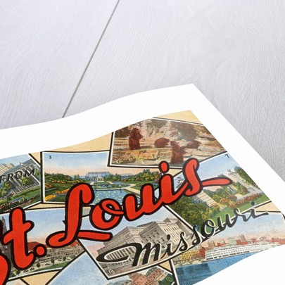Greetings from St. Louis, Missouri by Corbis
