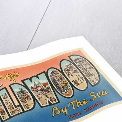 Greetings from Wildwood-by-the-Sea, New Jersey by Corbis
