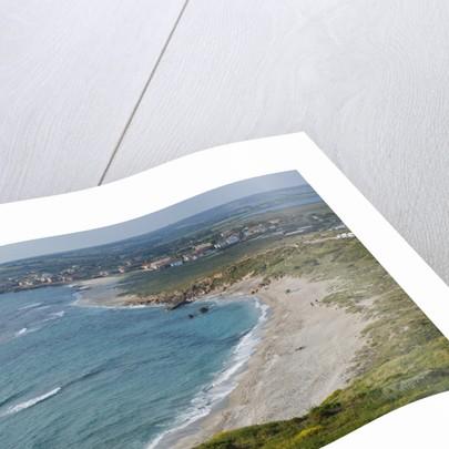 Beach near Tharros, Cabras, Sardinia, Italy by Corbis