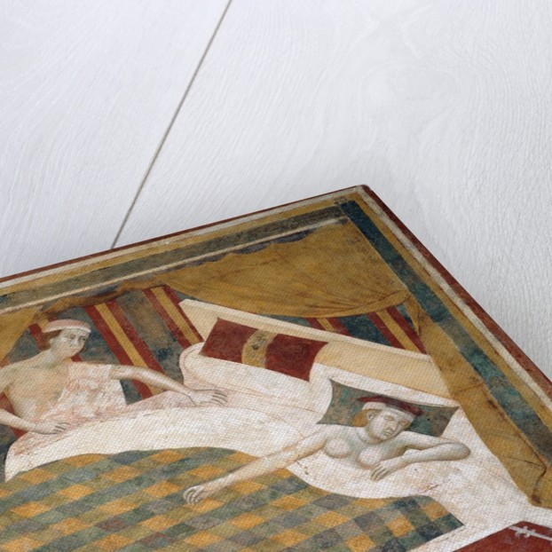 Married Couple Retires to Their Bed by Memmo di Filippuccio