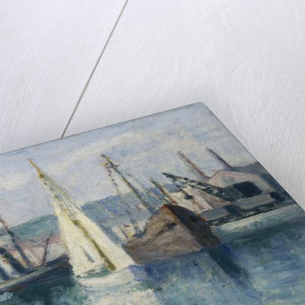 Dieppe, Un Bassin by Maximilien Luce