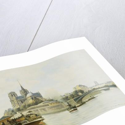 La Quai de la Tournelle, Paris by C.T Guillermot