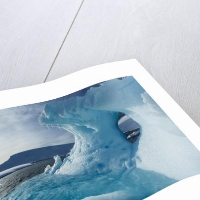 Iceberg, Gerlache Strait, Antarctica by Corbis