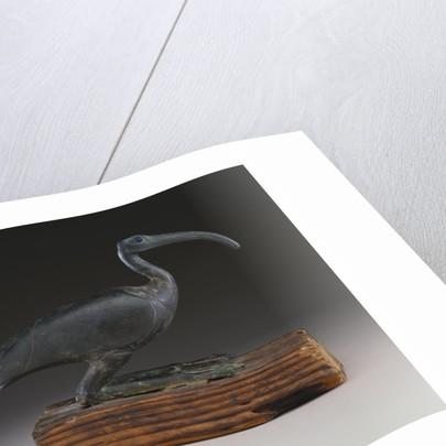 An Egyptian figure of an Ibis by Corbis