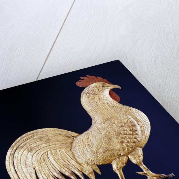 19th century rooster weathervane by Corbis