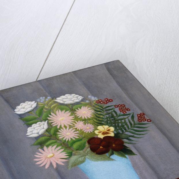 Garden Flowers by Henri 'Le Douanier' Rousseau