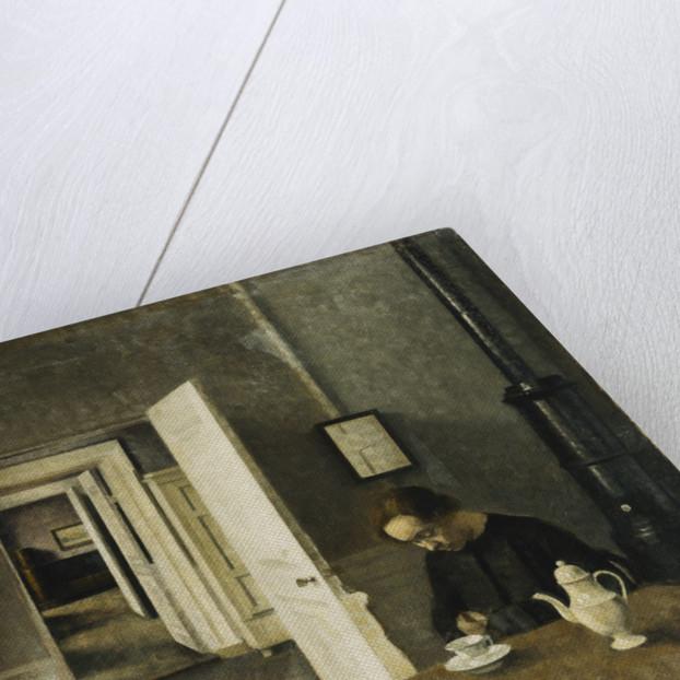 An Interior, Strandgade 25 by Vilhelm Hammershoi