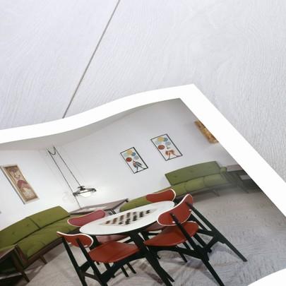 1970s Interior Design Rumpus Recreation Game Rec Room by Corbis