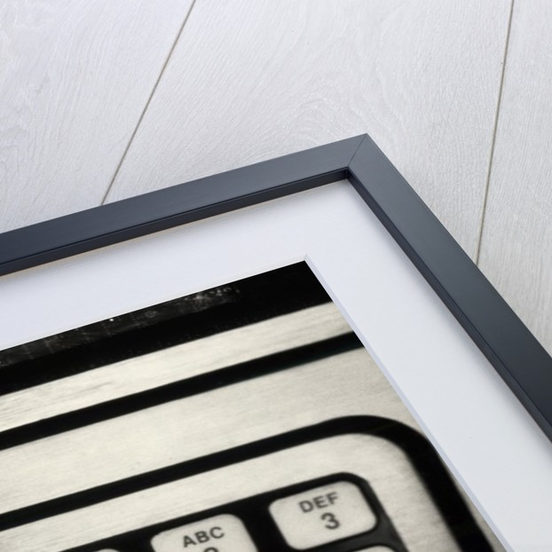 1980s Hand Pressing Buttons On Panel Of Vintage Automatic Teller Machine Atm by Corbis