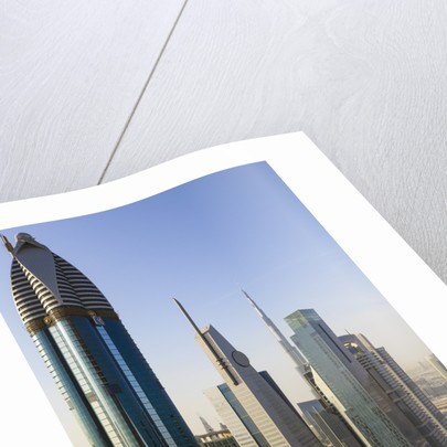 Dubai cityscape by Corbis