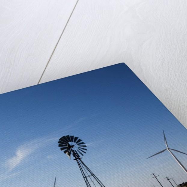 Wind Farm, Vega, Texas by Corbis