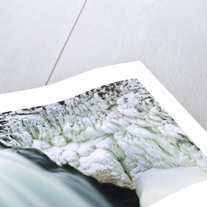 Waterfall Gullfoss in winter by Corbis