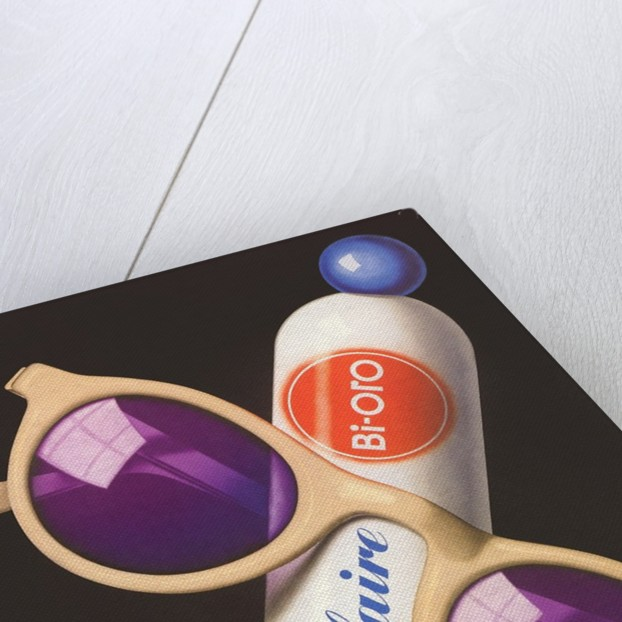 French Advertisement for Sunscreen by Corbis