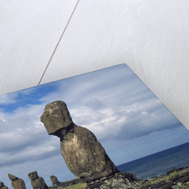 Easter Island by Corbis