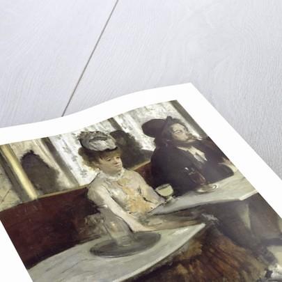 Dans un café, dit aussi l'Absinthe (In a Café, also called Absinthe) by Edgar Degas