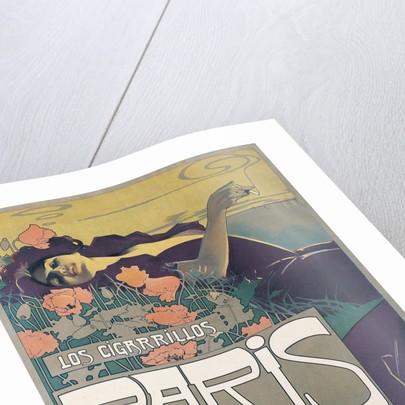 Cigarrillos Paris son los Mejores (Paris cigarillos are the best!) poster by Aleardo Villa
