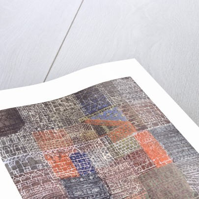 Structural II posters & prints by Paul Klee