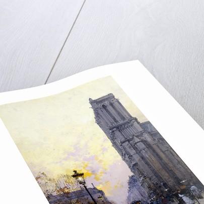 Notre Dame de Paris by Eugene Galien-Laloue