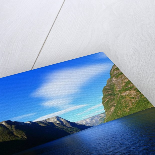 Sognefjorden. Kayaking in the Naeroyfjord. by Corbis