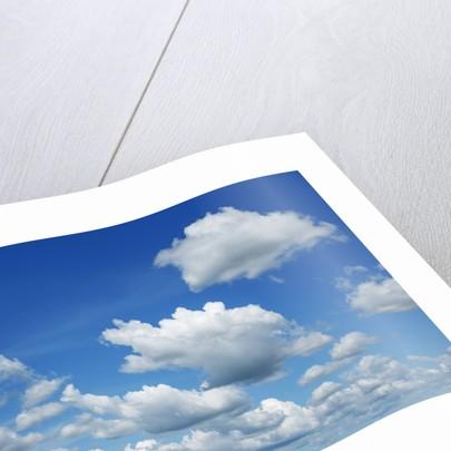 Cumulonimbus clouds by Corbis