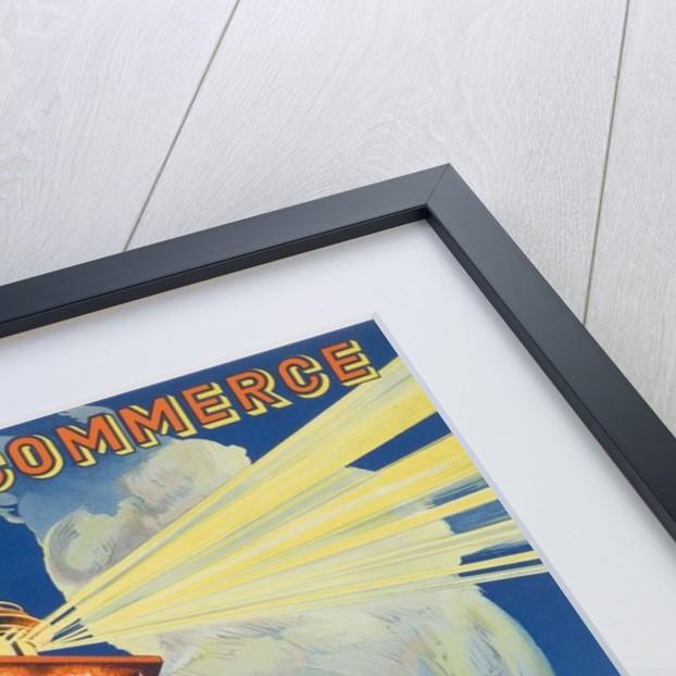 chambre de commerce boulogne smer travel poster by corbis