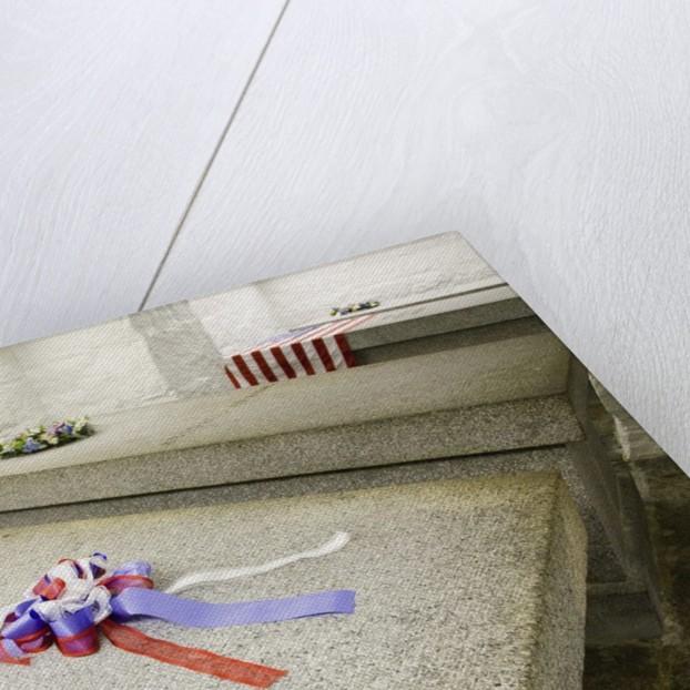 John Adams and John Quincy Adams Burial Tomb by Corbis