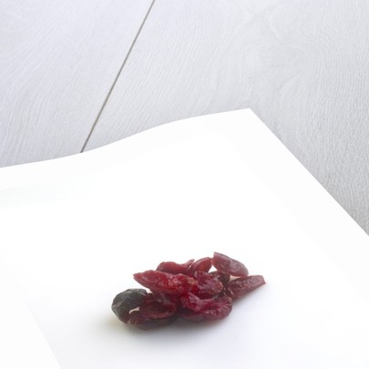 Dried cranberries by Corbis