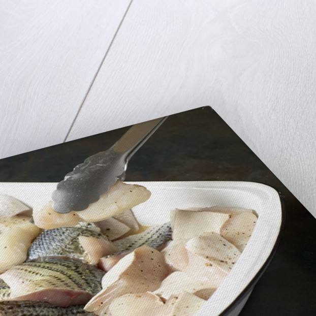 Fish fillets by Corbis