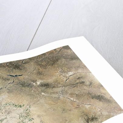 Satellite view of Phoenix, Arizona by Corbis