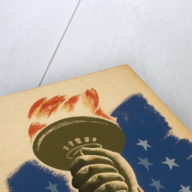 Democracy, A Challenge, Liberty Torch by Corbis