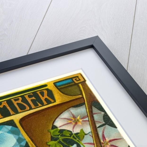 Art Nouveau September, Libra by Corbis