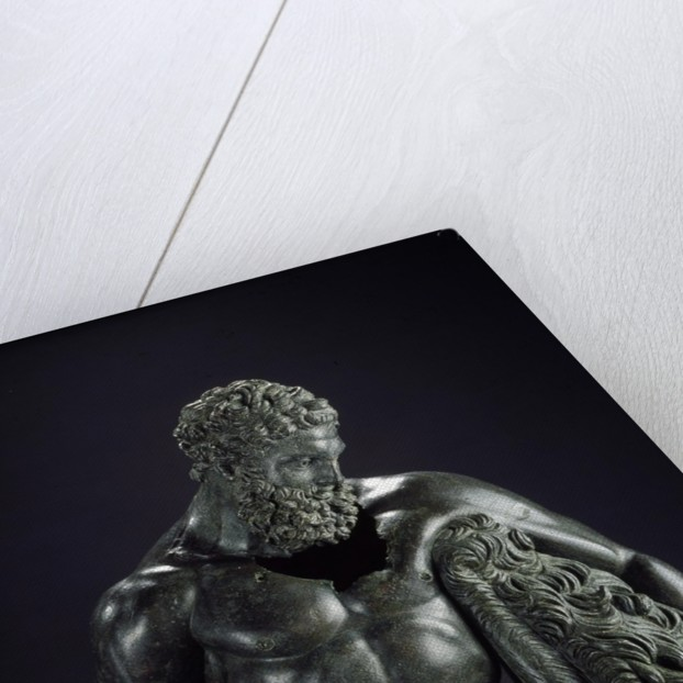 Detail of Hercules Resting by Lysippos