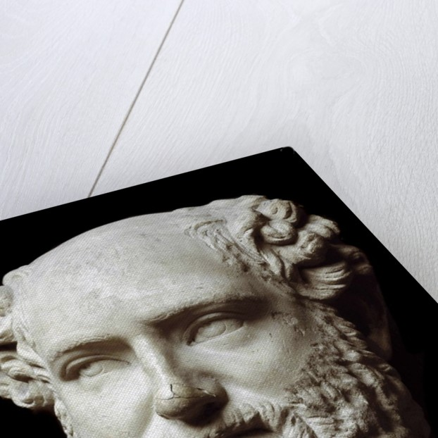 Roman marble bust of Aristophanes by Corbis