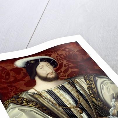 Portrait of Francis I, King of France, by Jean Clouet