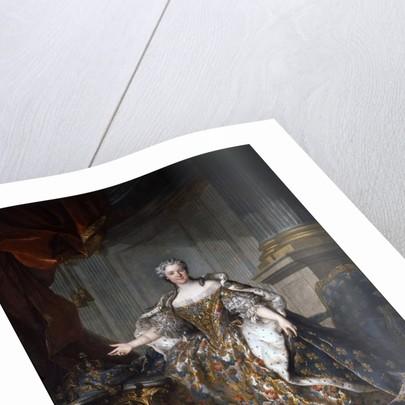 Portrait of Maria Leszczynska by Louis Tocque