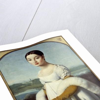 Portrait of Mademoiselle Caroline Riviere by Jean-Auguste-Dominique Ingres