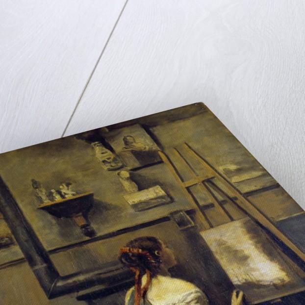 Studio of Corot by Jean Baptiste Camille Corot