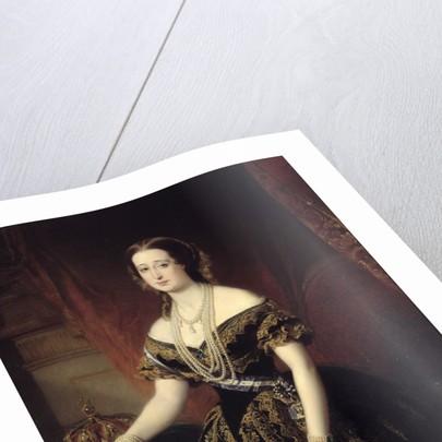 Portrait of Eugenie by Dubufe Edouard Louis Dubufe