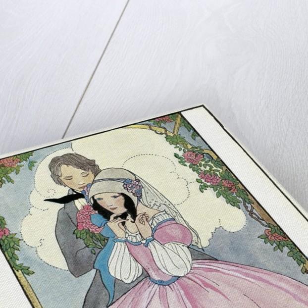 June Roses, Couple in Arbor by Corbis