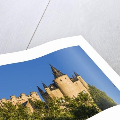 View of the Alcázar (Castle) de Segovia by Corbis