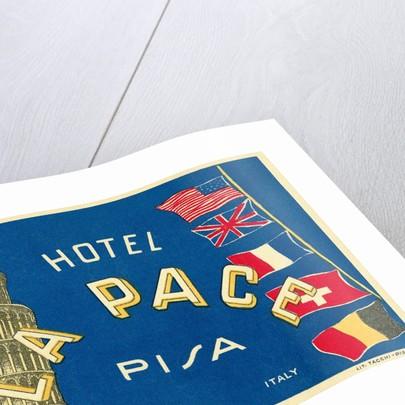Hotel La Pace, Pisa, Italy by Corbis